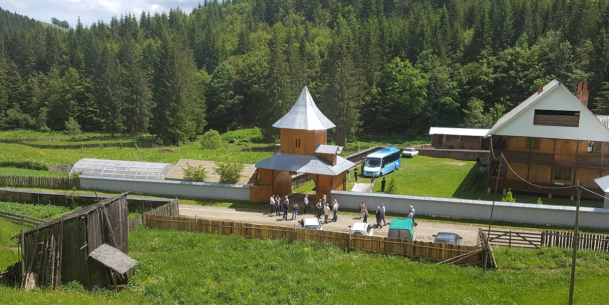 The monastery in Cracaoani, Romania where the microgrid will be constructed. Photo: Henrik Kirkeby and Lena S. Tøfte
